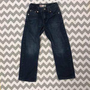 Boys Denim Jeans 7 Reg Levi's 514 Straight